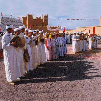 رقصة أحواش فلكلور أمازيغي عتيق