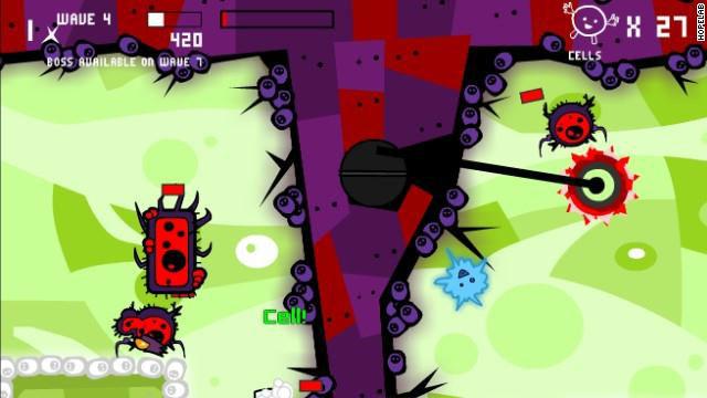 """لعبة فيديو """"تحارب"""" الخلايا السرطانية لدى الأطفال"""