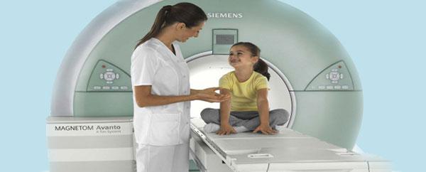 أشعة الرنين المغناطيسي للكشف عن السرطان لدى الأطفال