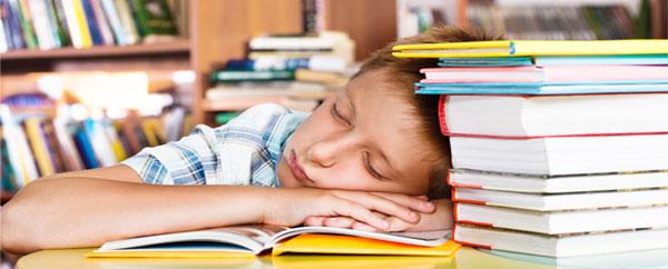نقص التركيز لدى الأطفال ينتج بسبب عدم النوم !!