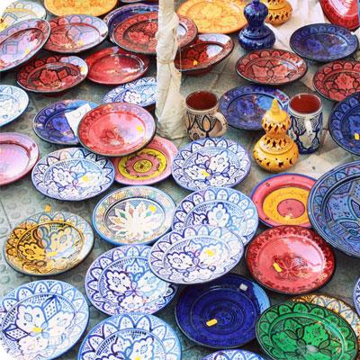 الخزف المغربي موروث ثقافي عريق