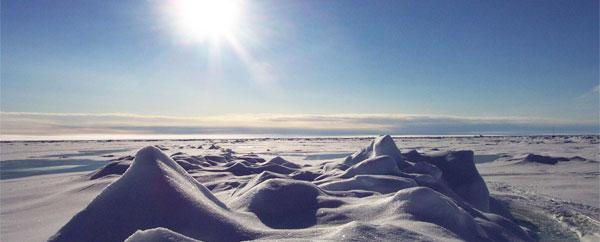القطب الشمالي يسجل أعلى درجات حرارة له من 44 ألف عام