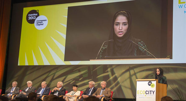 أبوظبي تحتضن قمة مدن البيئة العالمية عام 2015