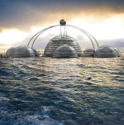 مدينة للمستقبل تحت الماء