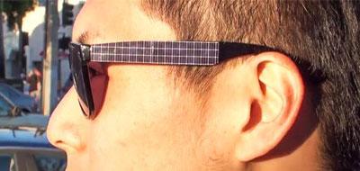نظارات شمسية متطورة لشحن الهاتف