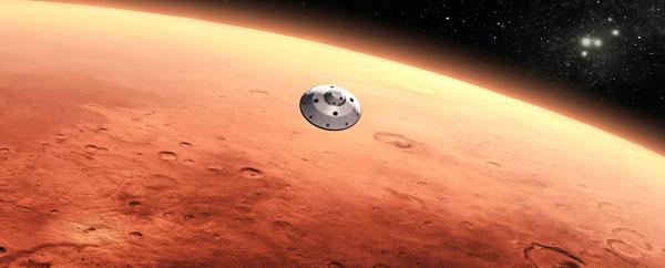 صور من المريخ بتقنية 3D
