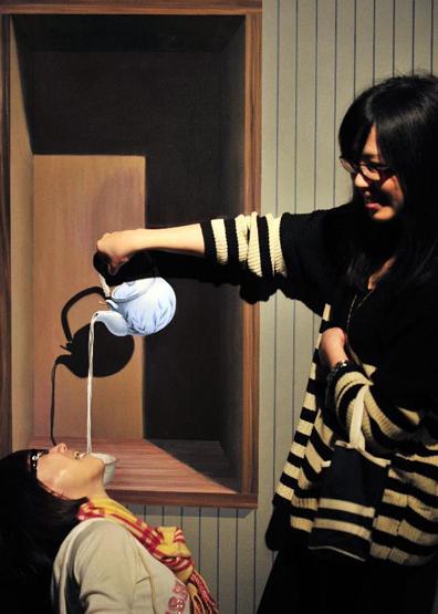 متحف الخدع البصرية في كوريا الجنوبية