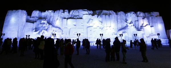 سحر ثقافة الجليد والثلوج في مهرجان هاربين الدولي