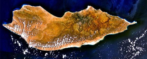 من أروع الجزر النباتية الساحرة