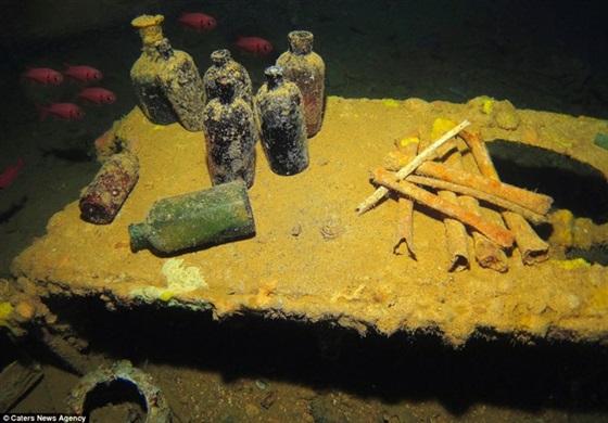 صور تكشف عن أكبر مقبرة لسفن الحرب العالمية الثانية عالميا