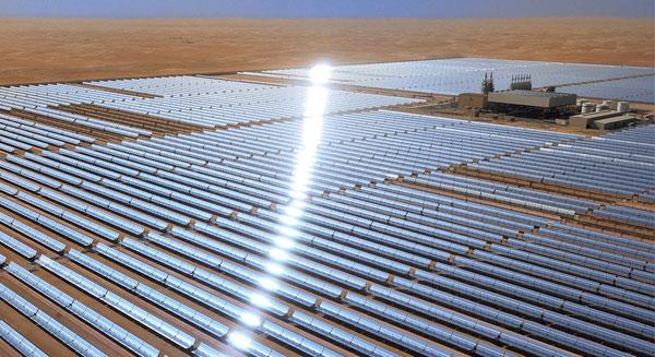 افتتاح أكبر محطة للطاقة الشمسية بالعالم