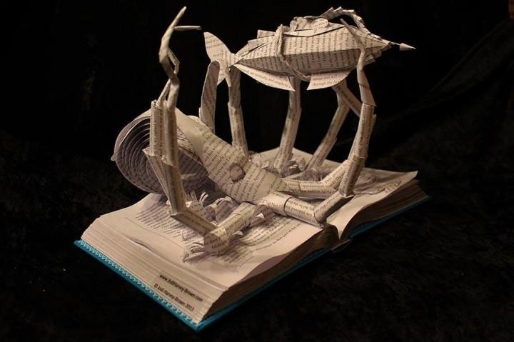 عندما تعود الكتب إلى الحياة وتروي قصتها!!