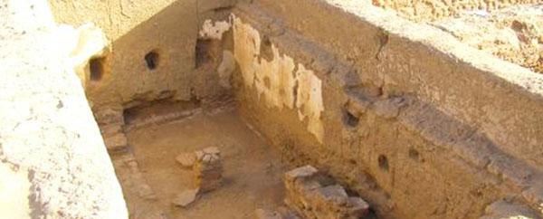 العثور على مدرسة مصرية قديمة