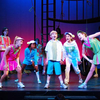 عناصر المسرح المدرسي