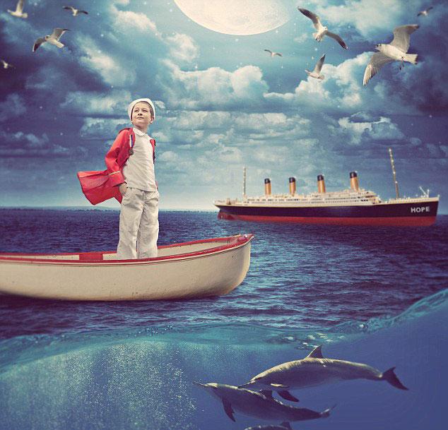 فنان كندي يحول أحلام أطفال مصابين بأمراض خطيرة إلى واقع ملموس
