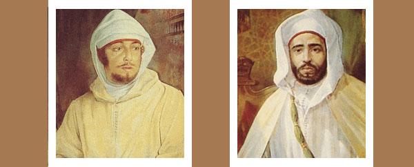 مولاي عبد العزيز ومولاي عبد الحفيظ