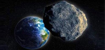 كويكب يمرّ بسرعة بين الأرض والقمر