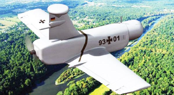 طائرات بدون طيار لمكافحة التلوث