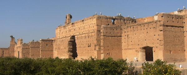 قصر البديع تحفة المنصور الذهبي