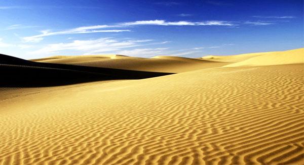 دور الصحراء في امتصاص ثاني أكسيد الكربون