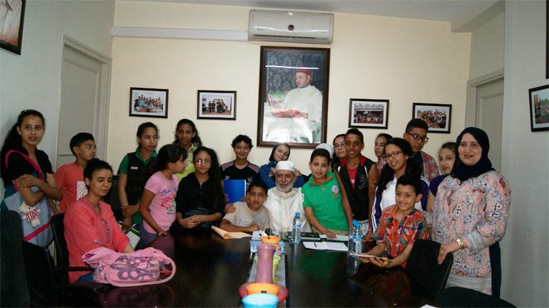 نادي البيئة في لقاء تواصلي مع الأستاذ العالم الحسين أشقرا