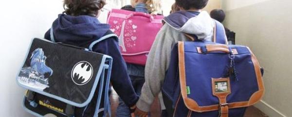 الحقيبة المدرسية وآلام الظهر