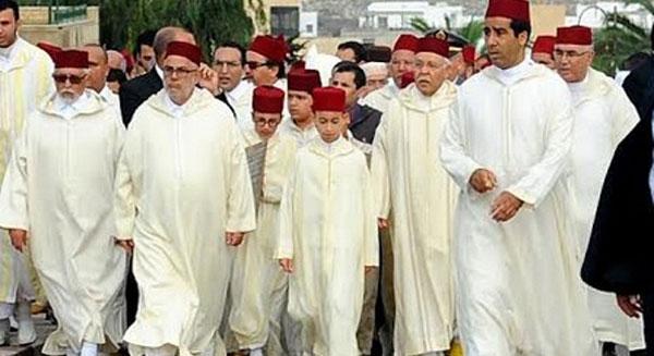 إقامة صلاة الاستسقاء بمسجد حسان بالرباط بحضور ولي العهد الأمير مولاي الحسن