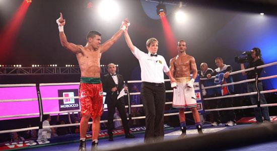 تأهل الملاكم المغربي محمد ربيعي
