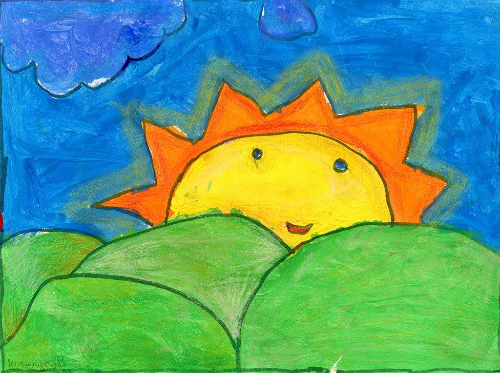 شمس بلادي مشرقة فوق روابيها