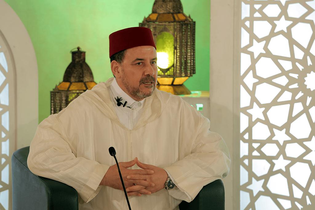 """الدكتور أحمد عبادي يشيد بدور وحدة اللوح والقلم بمؤسسة """"طابة"""""""