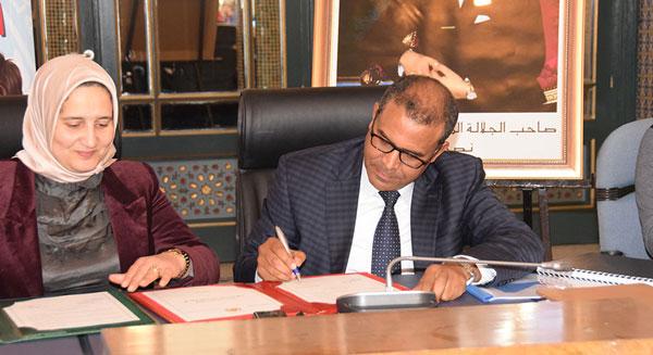 توقيع اتفاقية شراكة بين الرابطة المحمدية للعلماء واللجنة الوطنية للوقاية من حوادث السير