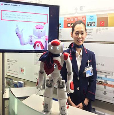"""إبتكار روبوت """"ناو"""" لمساعدة المسافرين"""