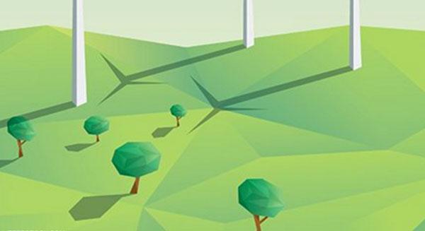شجرة صناعية تولد الطاقة الكهربائية