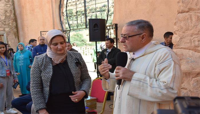نادي العمران في لقاء حول تاريخ مدينة بني ملال وتادلة بقلعة عين أسردون