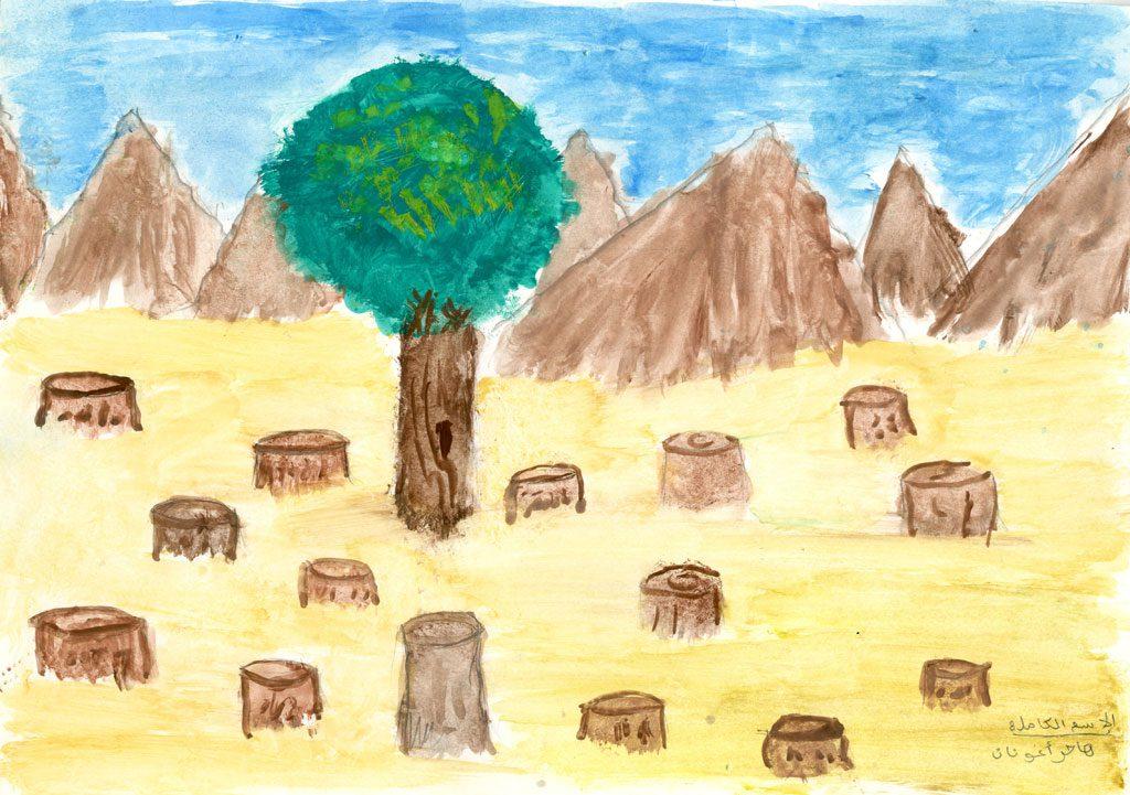 قطع الشجار سلوكيات تهدد البيئة