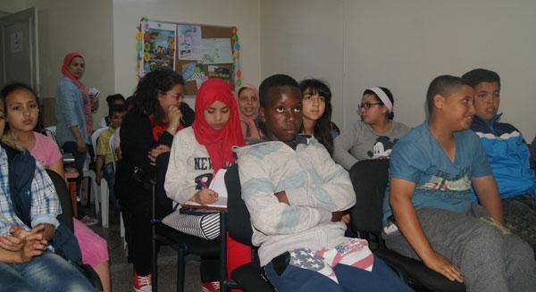 نادي الفنون في لقاء مع أستاذة الموسيقى منى ناجي