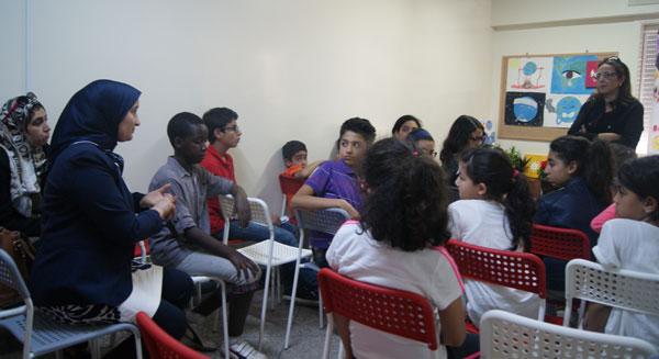 مشاركتي في لقاء نادي البيئة مع الدكتورة مريم العلوي المدغري