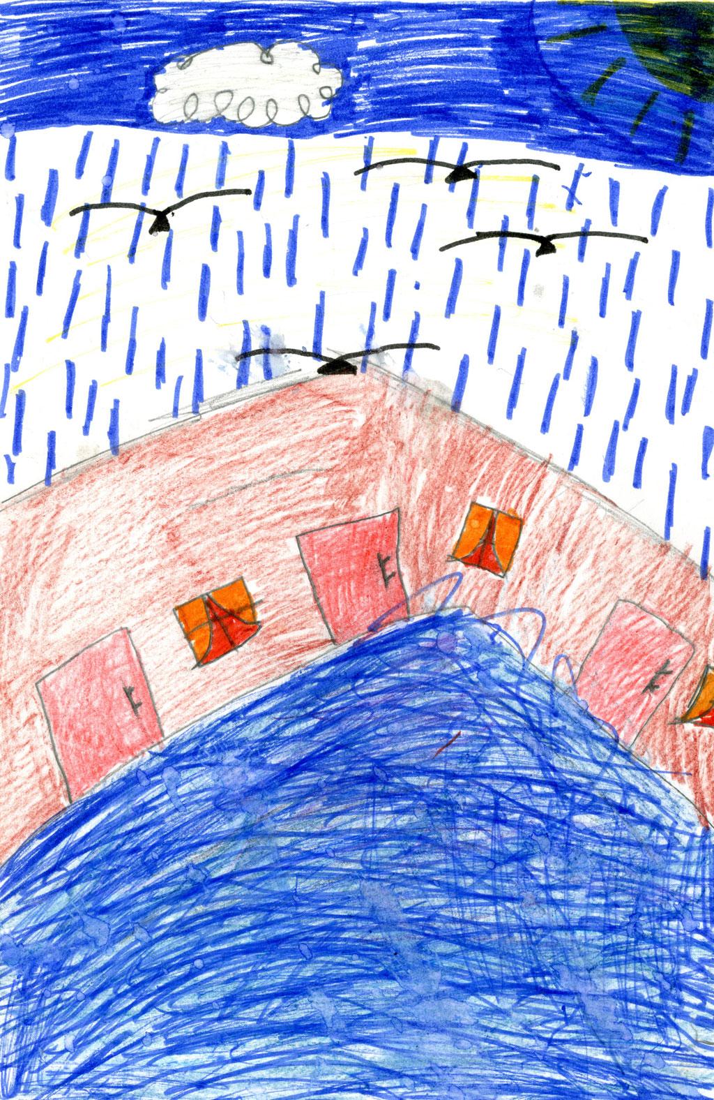 تساقطات مطرية غزيرة على مدينة بني ملال