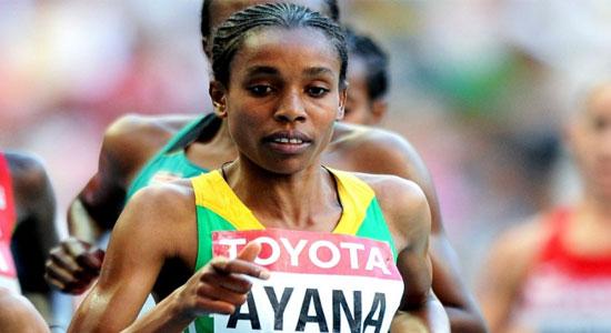 الإثيوبية ألماز أيانا تعود من جديد لملتقى محمد السادس الدولي لألعاب القوى