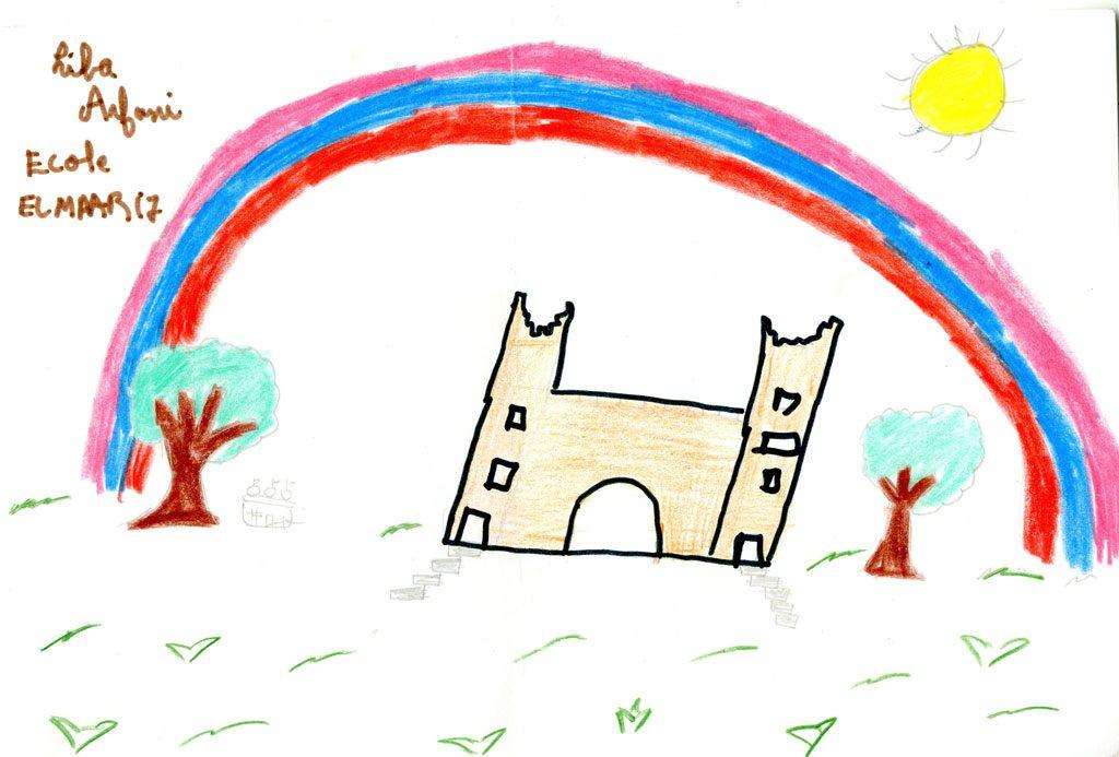 قلعة بني ملال الجميلة