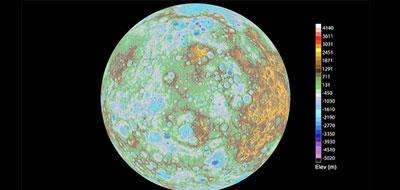 """ناسا"""" تعرض خريطة مفصلة لعطارد"""