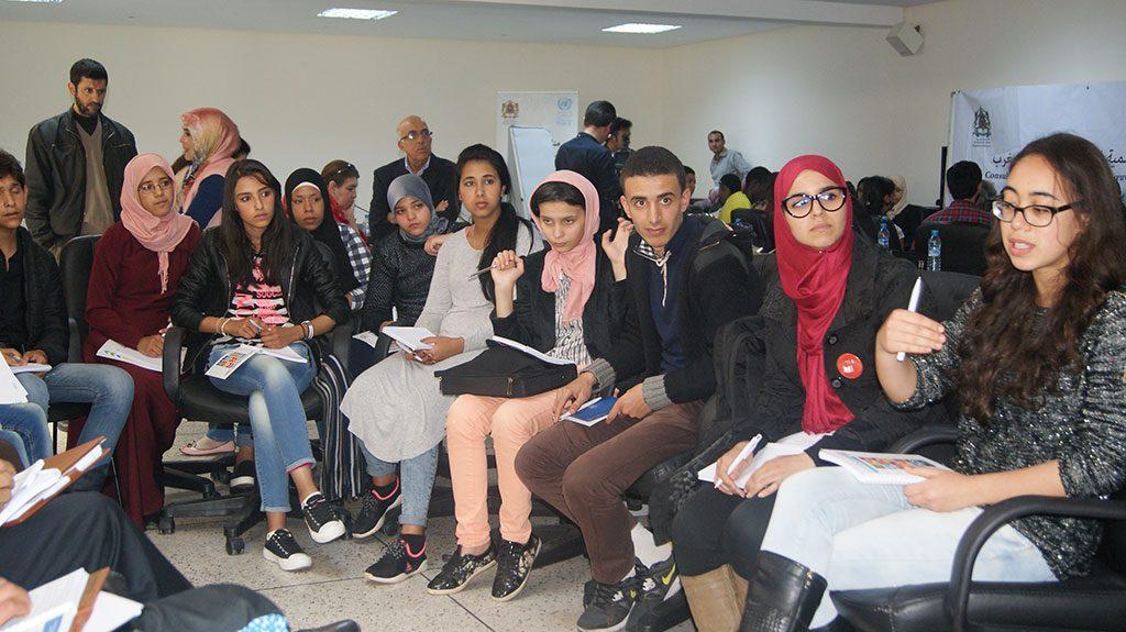 مشاركة وحدة الفطرة للناشئة في المناظرة الوطنية حول تفعيل أهداف التنمية المستدامة بالرباط