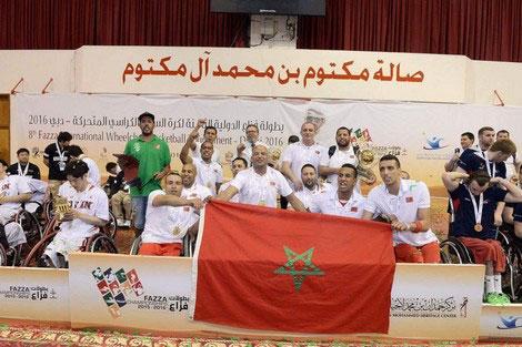 """المغرب يحرز ذهبية بطولة فزّاع لـ""""سلة الكراسي"""""""