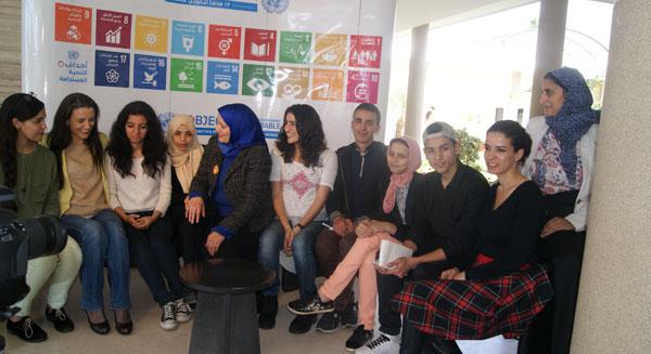 حوار رواد الفطرة للناشئة مع السيدة «ريجينا دومينيس» ممثلة اليونيسف بالمغرب
