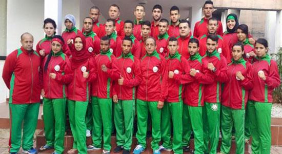 المنتخب المغربي للمواي طاي يشارك في بطولة العالم المقامة في مدينة جونكوبينغ السويدية