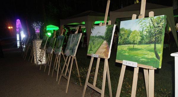 مشاركة رواد نادي البيئة بوحدة الفطرة للناشئة في الذكر الثالثة لتدشين حديقة التجارب النباتية