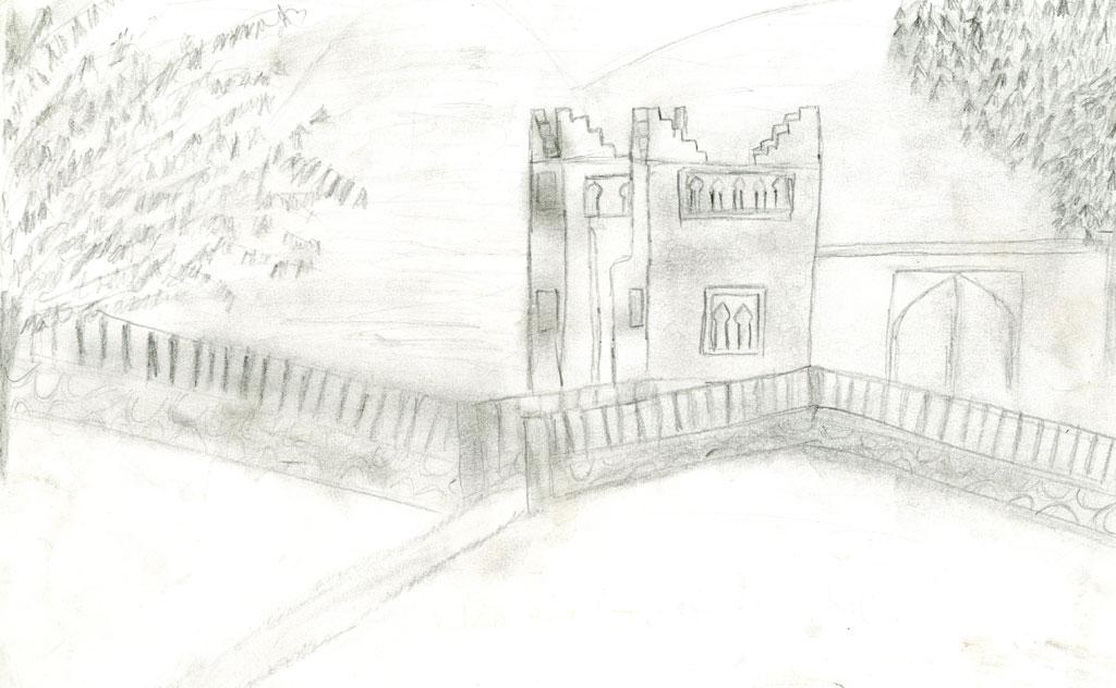 قلعة عين أسردون ببني ملال
