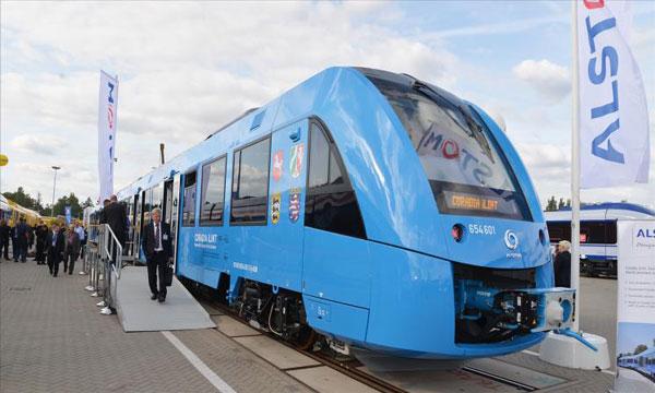 """ألمانيا تطلق أول قطار """"هيدروجيني"""" في العالم"""