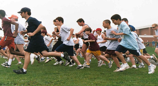 الرياضة التنافسية تشجع على الاستمرارية