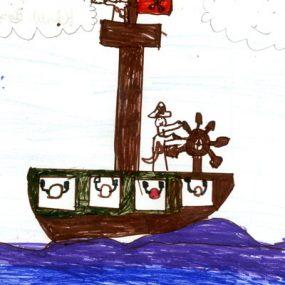 سفينة القراصنة